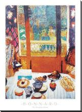 Breakfast Room art print poster with block mounting