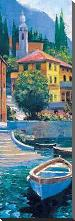 Lake Como Crossing Panel I art print poster with block mounting