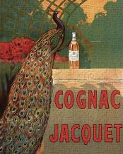 Cognac Jacquet art print poster transferred to canvas