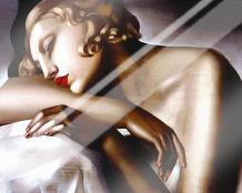 Dormeuse art print poster with laminate