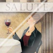 Salute II art print poster with laminate