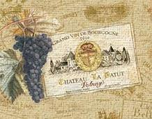 Chateau La Batut art print poster transferred to canvas