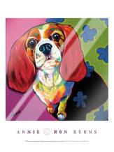 Annie art print poster with laminate