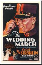 Wedding March, the art print poster with block mounting