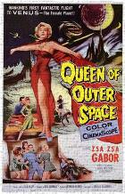 Queen of Outer Space art print poster transferred to canvas