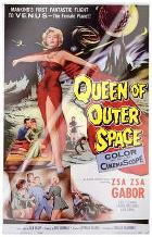 Queen of Outer Space art print poster with laminate