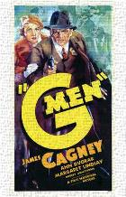 G Men art print poster transferred to canvas