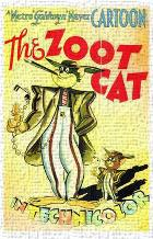 Zoot Cat, the art print poster transferred to canvas