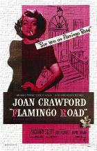 Flamingo Road art print poster transferred to canvas