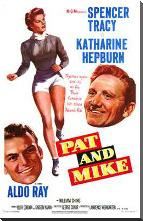 Pat and Mike art print poster with block mounting