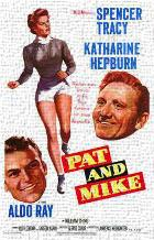 Pat and Mike art print poster transferred to canvas