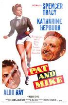 Pat and Mike art print poster with laminate
