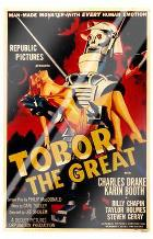 Tobor the Great art print poster with laminate
