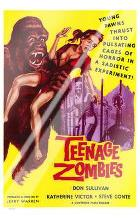 Teenage Zombies art print poster with laminate