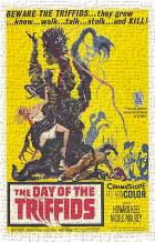 Day of the Triffids, the art print poster transferred to canvas