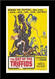 Day of the Triffids, the art print poster with simple frame