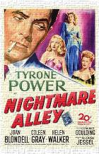 Nightmare Alley art print poster transferred to canvas