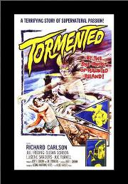 Tormented art print poster with simple frame