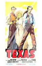 Texas art print poster with laminate