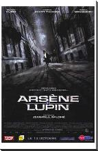 Arsene Lupin art print poster with block mounting