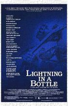 Lightning in a Bottle art print poster transferred to canvas
