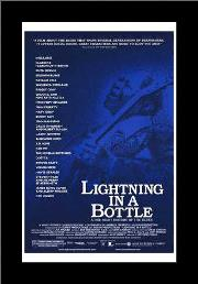 Lightning in a Bottle art print poster with simple frame