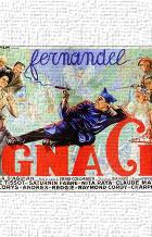 Ignace art print poster transferred to canvas