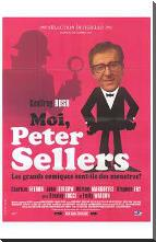 Life and Death of Peter Sellers, the art print poster with block mounting