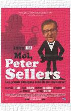 Life and Death of Peter Sellers, the art print poster transferred to canvas