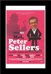Life and Death of Peter Sellers, the art print poster with simple frame