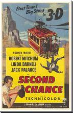 Second Chance art print poster with block mounting