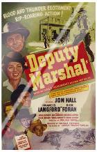 Deputy Marshal art print poster with laminate