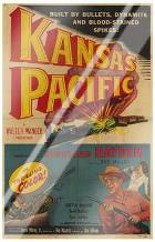 Kansas Pacific art print poster with laminate