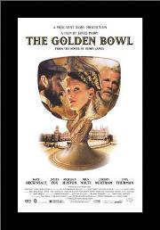 Golden Bowl, the art print poster with simple frame