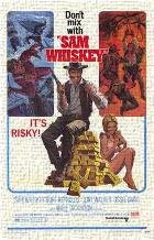 Sam Whiskey art print poster transferred to canvas