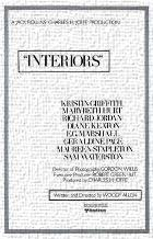 Interiors art print poster transferred to canvas