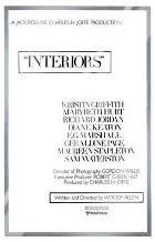 Interiors art print poster with laminate
