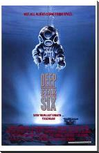 Deep Star Six art print poster with block mounting