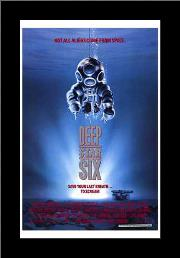 Deep Star Six art print poster with simple frame