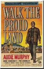 Walk the Proud Land art print poster with block mounting