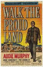 Walk the Proud Land art print poster transferred to canvas