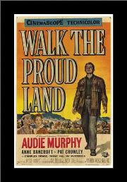 Walk the Proud Land art print poster with simple frame