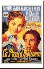 Picara Molinera, La art print poster with block mounting
