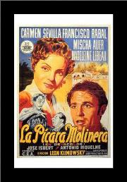 Picara Molinera, La art print poster with simple frame