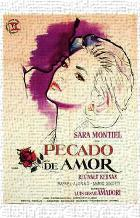Pecado De Amor art print poster transferred to canvas
