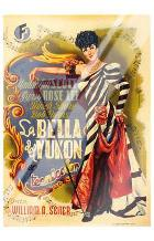 Belle of the Yukon art print poster with laminate