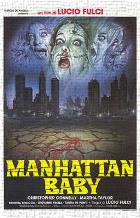 Manhattan Baby art print poster transferred to canvas