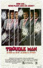 Trouble Man art print poster transferred to canvas