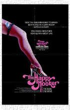 Happy Hooker, the art print poster transferred to canvas