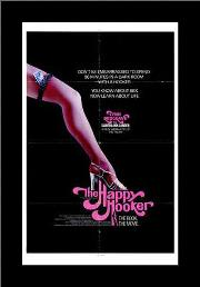 Happy Hooker, the art print poster with simple frame